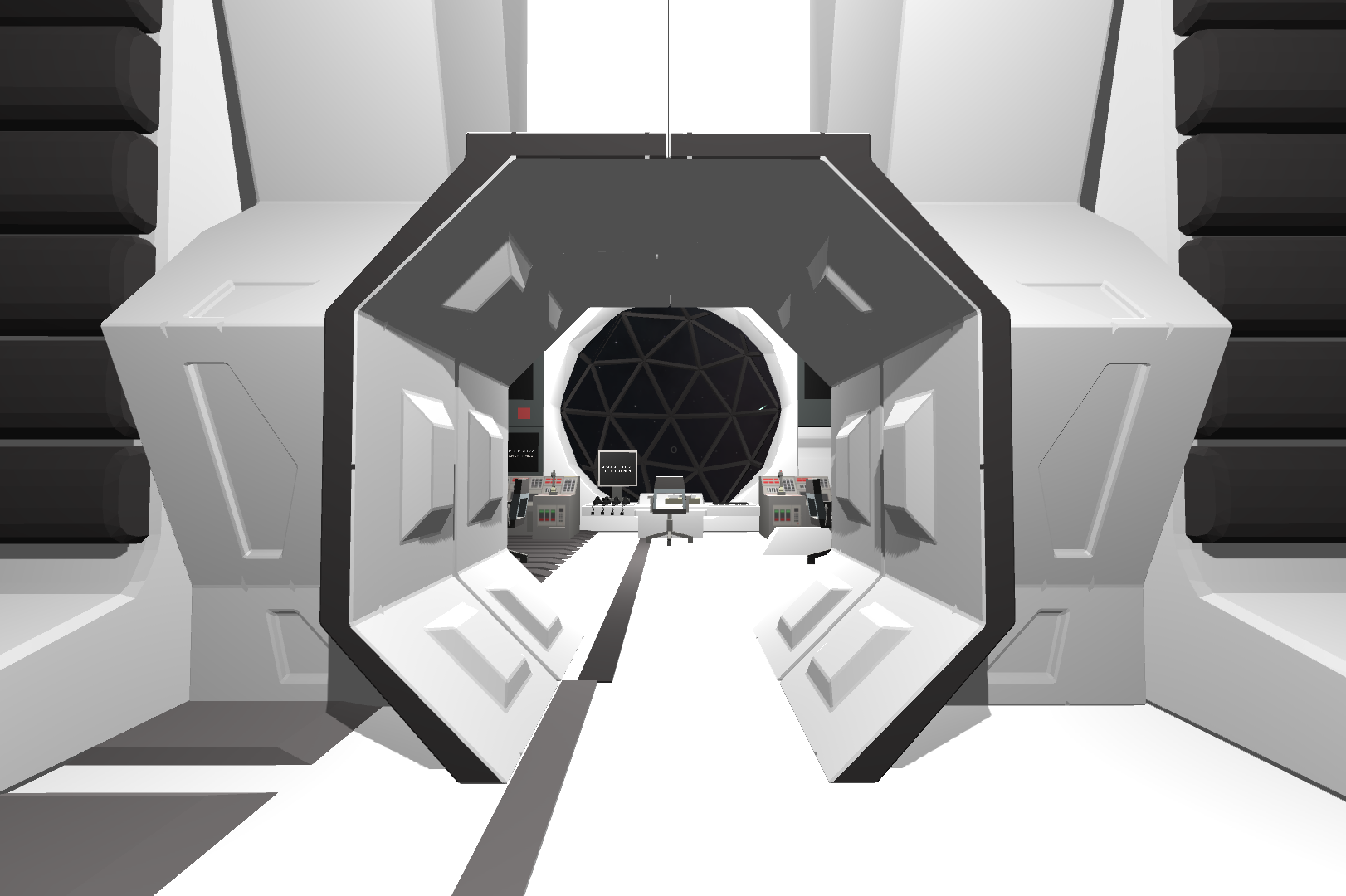A Virtual Playground in Space